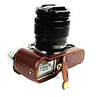 Bao da Halfcase dành cho máy ảnh Fujifilm X-T10, X-T20 Và X-T30 - Hàng Nhập Khẩu thumbnail