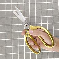 Kéo cắt đa năng Nhật Bản, chất liệu thép cao cấp có thể cắt gà , cắt vải...GS00885 thumbnail