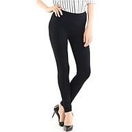 Bộ 3 quần kaki nữ dáng ôm có túi , co giãn 4 chiều ( MÀU ĐEN ) đủ size thumbnail