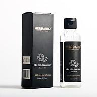 Dâ u dư a tinh khiết ép lạnh herbario 110ml nguyên chất dưỡng da, dưỡng tóc thuần chay (Cocos Nucifera Oil) thumbnail