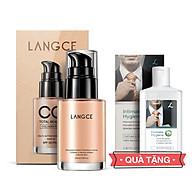 CC Cream Trang Điểm Collagen Đẹp Da Chống Nắng 30ml cho Nam TẶNG Gel Vệ Sinh Vùng Kín Nam 100ml LANGCE thumbnail