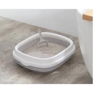 Khay vệ sinh cho thú cưng Size CỰC LỚN, khay vệ sinh tặng kèm xẻng thumbnail