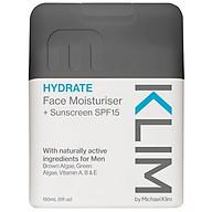 Klim Face Moisturiser + Sunscreen SPF 15 150ml thumbnail