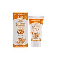 Kem chống nắng hữu cơ cho bé SPF50 Alphanova BeBe 50g thumbnail