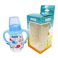 Bình sữa MATSU Duy Tân 150ml có quai No.1205 - Giao màu ngẫu nhiên thumbnail