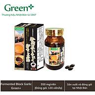 Viên tỏi đen, giấm đen Nhật Bản - Fermented Black Garlic Green+ thumbnail