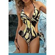 Đồ Bơi 1 Mảnh Sexy Body Đi Biển Du Lịch Mùa Hè Chất Liệu Thun Co Giãn Chất Đẹp Mẫu Khoét Eo Dành Cho Nữ thumbnail