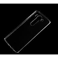 Ốp lưng silicon dẻo trong suốt Loại A cao cấp cho LG V10 thumbnail