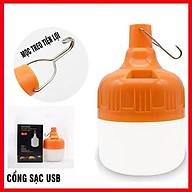 Bóng đèn LED tích điện công suất 100W 6-8H sáng liên tục thumbnail