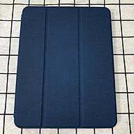Bao da chính hãng Mutural cao cấp cho iPad Pro 12.9 2020 có khay đựng bút - Xanh đen thumbnail