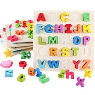 Bảng chữ nổi tiếng Anh bằng gỗ - Chữ hoa thumbnail