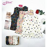 Đồ Bộ Mặc Nhà Pijama Nữ Tay Ngắn Cao Cấp - Đồ Ngủ Lụa thumbnail