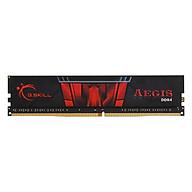 RAM DDR4 Gskill 8GB 2400MHz F4-2400C17S-8GIS Tản Nhiệt Lá Aegis - Hàng Chính Hãng thumbnail