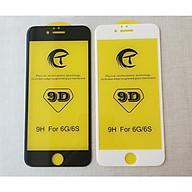 Kính cường lực 9D full màn dành cho iPhone 6, iPhone 6s chống xước, chông vỡ màn hình thumbnail