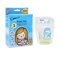 Combo 02 hộp túi trữ sữa sunmum 100ml - một hộp chứa 30 túi Sunmum - có kiểm định y tế thumbnail