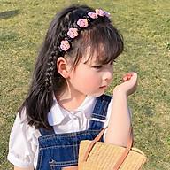 Bờm Kẹp Tóc Hàn Quốc Cho Bé Gái Có Đính Hoa Quả Siêu Cute Hot Nhất 2021 thumbnail