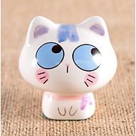 Tượng Trang Trí Gốm Sứ Mèo Kute (Mua 5 tặng 1 chiếc ngẫu nhiên) thumbnail