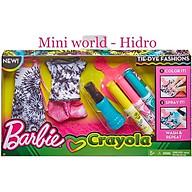 Set tô màu váy búp bê Barbie thumbnail