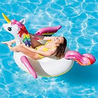 Phao bơi Intex khổng lồ, chất liệu nhựa PVC, kiểu dáng ngựa thần, thiết kế bắt mắt, hài hòa, phục vụ nhu cầu sống ảo, trang trí bể bơi thumbnail