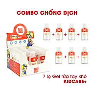 [COMBO 7 SẢN PHẨM] Gel rửa tay khô Hồng Hà Kids care+ 50ml (8201) thumbnail