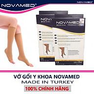 Vớ y khoa Vớ giãn tĩnh mạch Dưới Gối NOVAMED Made in Thổ Nhĩ Kì thumbnail