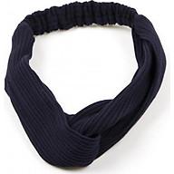 Băng Đô Vải Cài Tóc Thun Màu Xanh Đen - Mã BD069 thumbnail