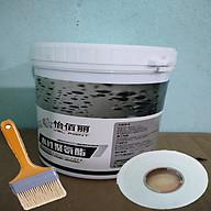 Keo quét chống thấm, vá trám vết nứt tường đa năng thông minh chống bong tróc trong nhà, ngoài trời ( 1kg). Tặng kèm chổi quét sơn và 2,5m vuông vải thumbnail
