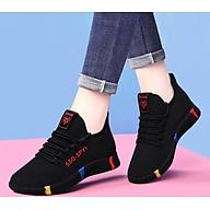 Giày sneaker nữ thời trang mới nhất buộc dây siêu nhẹ V245 thumbnail