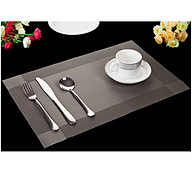 Set 2 Tấm lót bàn ăn xám - 30x45cm thumbnail