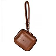Vintage Leather Case for Airpods 2 (LED indicator) - Hàng chính hãng thumbnail