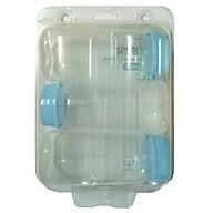 Bộ 3 bình trữ sữa Spetra cổ hẹp dùng cho máy Dew, medela thumbnail