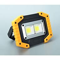 Đèn Led 10W sạc điện tiện lợi (Tặng kèm đèn pin bóp tay giao màu ngẫu nhiên) thumbnail
