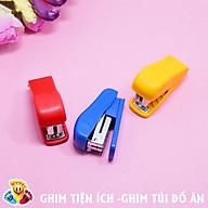 Combo 2 bộ Ghim bấm giấy mini (kèm 3 miếng ghim) (Giao màu ngẫu nhiên) E213 thumbnail