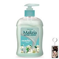 Nước rửa tay xạ hương trắng Malizia Liquid Soap White Musk 300ml tặng kèm móc khóa thumbnail