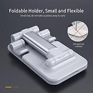 Giá đỡ điện thoại bằng nhôm với góc đỡ và độ dài tùy chỉnh dùng cho điện thoại, máy tính bảng kích thước 4.7 -12.9 thumbnail