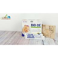 02 HỘP 20 Túi nhôm BIO-DÉ 10ml, Siro ăn ngon cho bé từ thảo dược, hỗ trợ trẻ biếng ăn, hay ốm, giúp cải thiện tận gốc khả năng ăn uống ở trẻ, giúp bổ máu, tăng cường để kháng, bé ăn ngon hơn, tiêu hóa khỏe, giúp tăng cân cho bé thumbnail