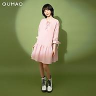 Đầm nữ buột nơ bèo tùng GUMAC DB1155 thumbnail