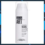 Kem dưỡng L oreal Hollywood Waves by Tecni.art Siren Waves defining elasto-cream giữ nếp tóc và tăng sóng xoăn 150ml thumbnail