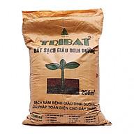 Giá Thể trồng cây Đất Cao Cấp trồng Cây Trồng Rau, Hoa, Cây Cảnh Đất hữu cơ trồng cây đa dụng Tribat ( 20 dm3 ) thumbnail