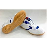 Giày Chơi Cầu Lông Chí Phèo Trắng Sọc Xanh thumbnail