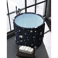 Bồn tắm gấp gọn làm bằng vải PVC, dùng để tắm, xông hơi, ngâm thảo dược -sự lựa chọn hoàn hảo cho cả gia đình thumbnail