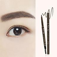 Combo bộ sản phẩm chì kẻ mày đầu tròn - chì kẻ mắt không trôi Hàn Quốc thumbnail