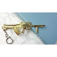 Móc khóa mô hình trong Game PUBG Mẫu MK-S-Groza Vàng thumbnail