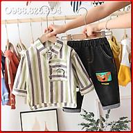 BS7Size80-120 (8-23Kg)Đồ Bộ cho bé trai. Quần jean + áo sơ miThời trang trẻ Em hàng quảng châu thumbnail