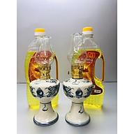 Combo 2 chiếc Đèn Thờ đốt Dầu men rạn vẽ Rồng ( tặng kèm 2 chai dầu 500ml) BH12112 thumbnail
