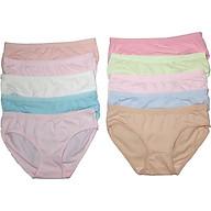 Combo 10 quần lót cotton co giãn 4 chiều thoáng mát ZCCG001 thumbnail