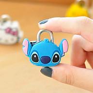 Ổ khóa mini dùng chìa hình thú mèo kitty, doremon, gấu, pan đa - Hình Ngẫu Nhiên thumbnail