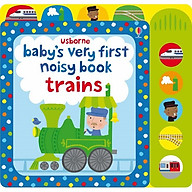 Usborne Baby s very first noisy book trains thumbnail