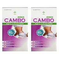 Thực phẩm bảo vệ sức khỏe hỗ trợ Giảm cân an toàn CAMBO dùng 15 ngày (2 hộp) công thức Mỹ thumbnail