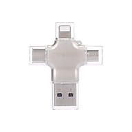 yvonne Y23 USB3.0 U Disk 64GB USB Lightnning Micro USB Type-C Four-In-One High Speed OTG U Disk for Phone PC Laptop thumbnail
